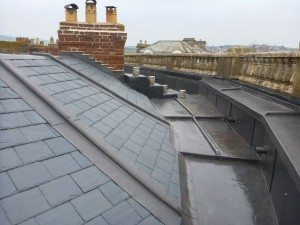 Roof Repairs Of A Grade Ii Listed Property Midland Lead