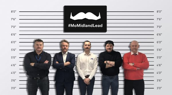 Movember – raised £500 for charity.