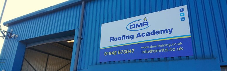 DMR Roofing Academy, just one of the construction training colleges that Midland Lead support