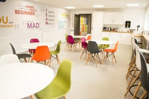 Midland Lead's new canteen