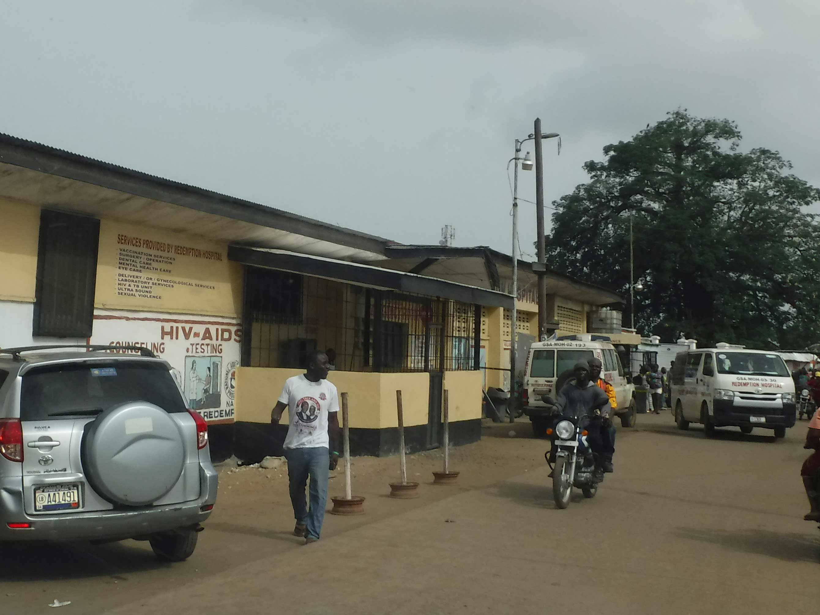 Midland Lead provide radiation protection for healthcare in Liberia