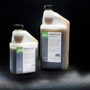Patination Oil For Lead Working, Ancilliary Items - Midland Lead