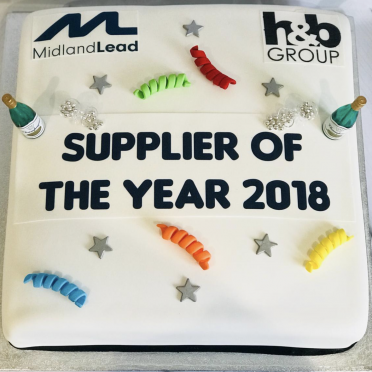 Supplier of the year award