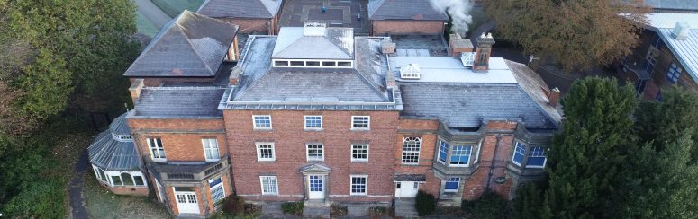 Swanwick Hall Midland Lead work with NRA roofing